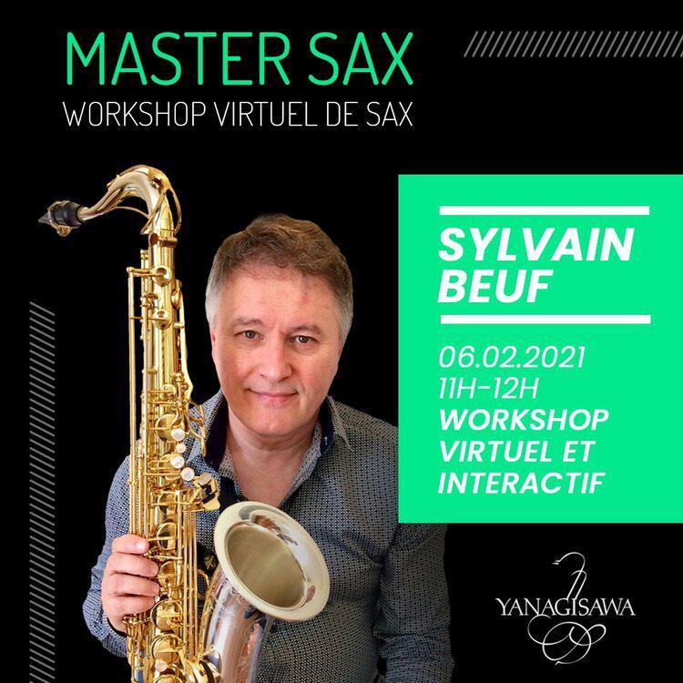 Illustration MASTER SAX with Sylvain BEUF