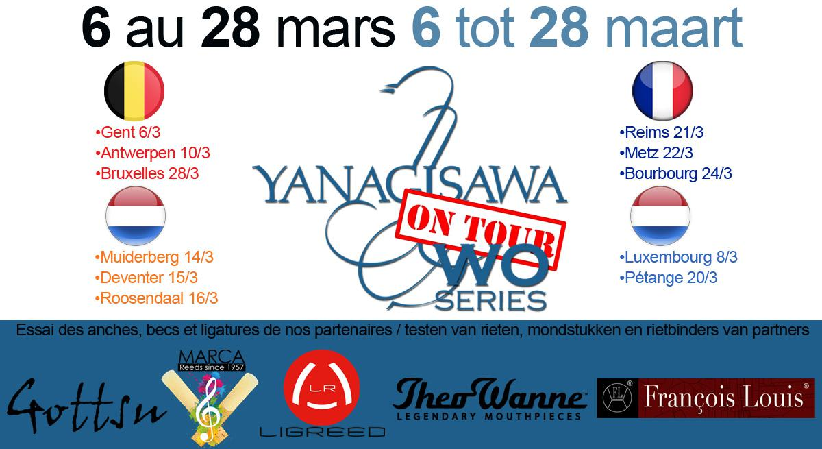 Photo Tournée Yanagisawa Du 6 au 28 Mars