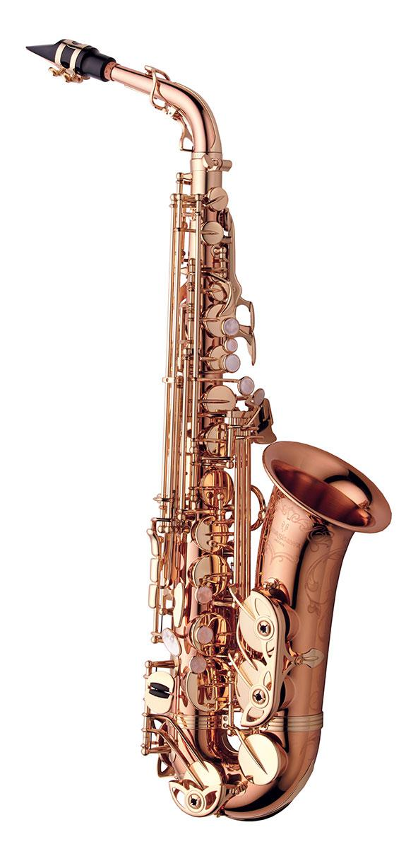 SAX ALTO - BRONZE PLAQUÉ OR ROSE